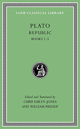 9780674996502: Plato: Republic, Volume I: Books 1-5 (Loeb Classical Library)