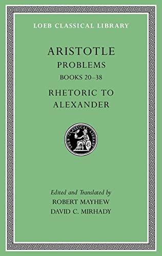 Problems, Volume II: Books 20-38: Aristotle