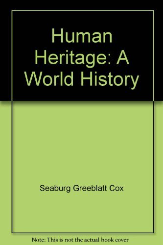 9780675018609: Human Heritage: A World History