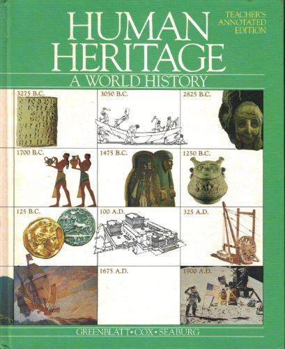 9780675018616: Human heritage: A world history