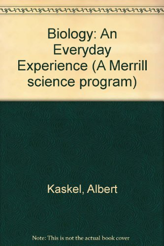 9780675026505: Biology: An Everyday Experience