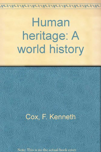 9780675028912: Human heritage: A world history