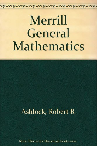 9780675048002: Merrill General Mathematics