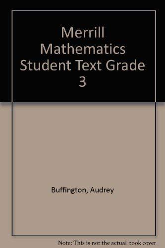 9780675052245: Merrill Mathematics Student Text Grade 3