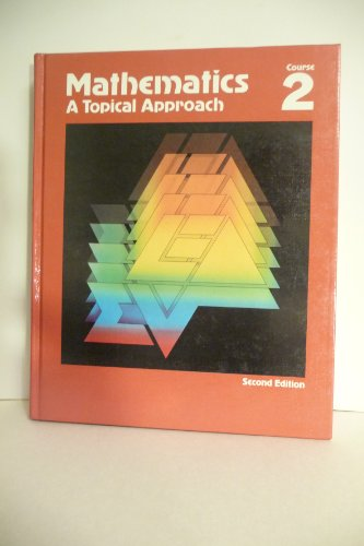 Mathematics a Topical Approach: Bumby, Douglas