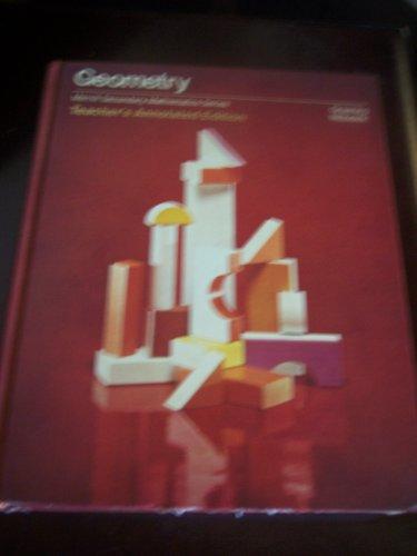 GEOMETRY: TEACHER's ANNOTATED EDITION, Merrill Secondary Mathematics Series *: GRAENING; ...
