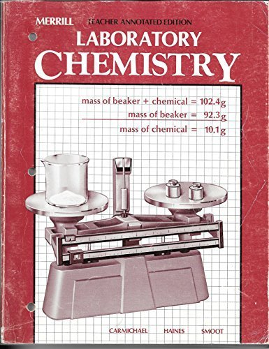 9780675064088: Laboratory Chemistry (Teacher Annotated Edition)