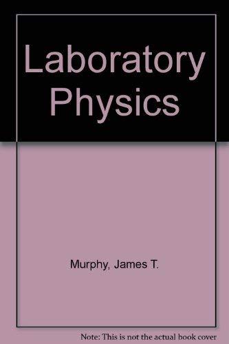 9780675070744: Laboratory Physics