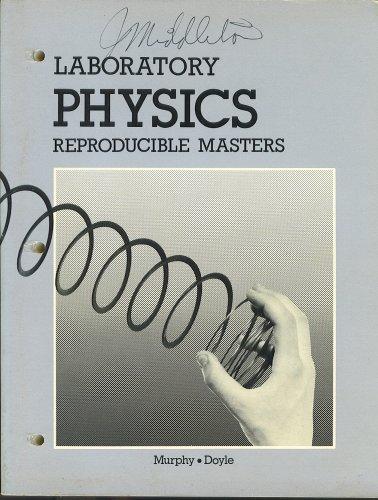 Laboratory Physics Reproducible Masters: James T. Murphy