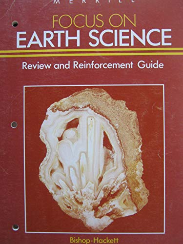 9780675073752: Focus on Earth Science. Review and Reinforcement Guide (A Merrill science program)