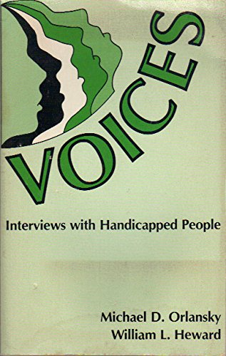 9780675080248: Voices: Interviews With Handicapped People