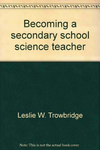 9780675080309: Becoming a secondary school science teacher