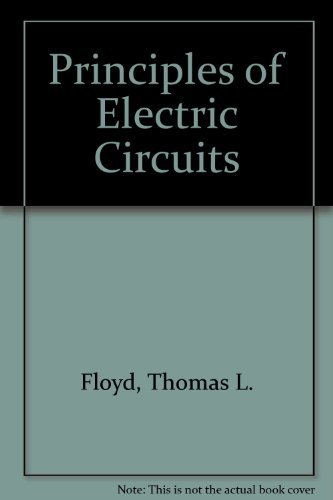9780675080811: Principles of Electric Circuits
