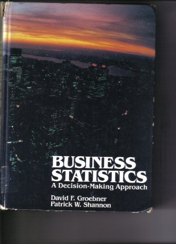 9780675080835: Business Statistics: A Decision Making Approach