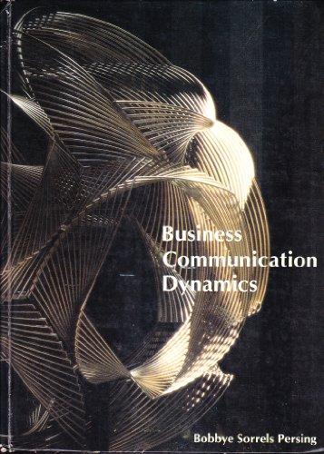 9780675081535: Business Communication Dynamics