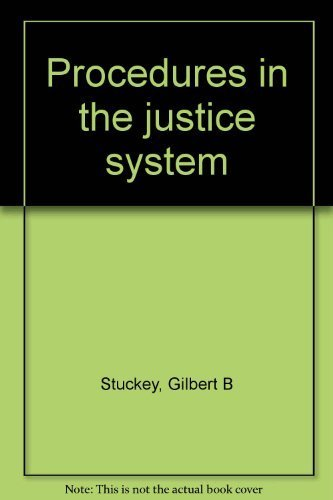 9780675081733: Procedures in the justice system