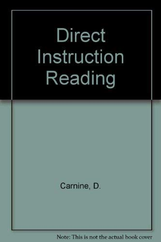 9780675082778: Direct Instruction Reading