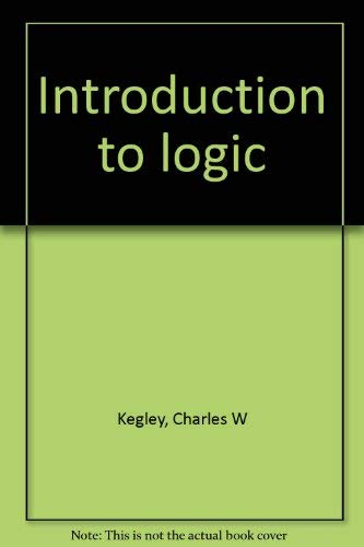 9780675083584: Introduction to logic