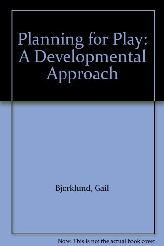 9780675084345: Planning for Play: A Developmental Approach