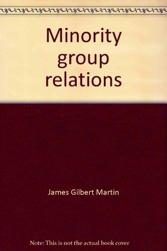 9780675089531: Minority group relations (Merrill sociology series)