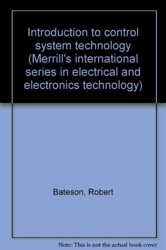 9780675089579: Introduction to Control System Technology (Merrill's International Series in Electrical and Electronics Technology)
