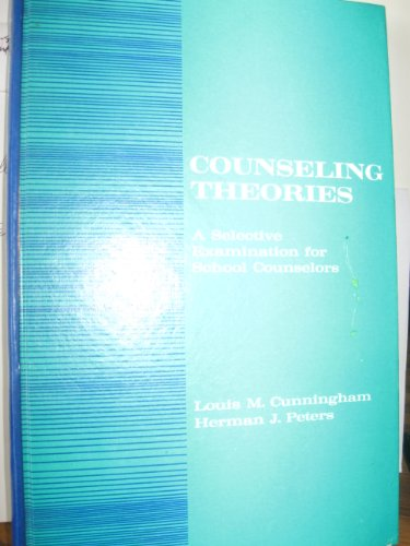 Theories Counseling Abebooks