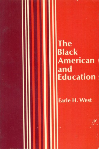 9780675090827: The Black American and education