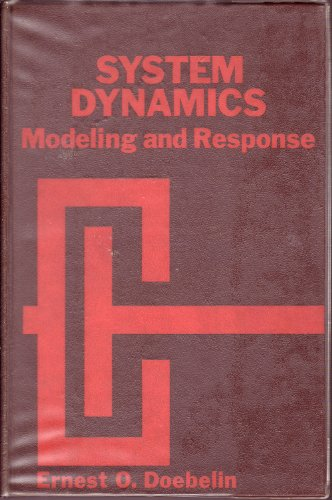 9780675091206: System dynamics: modeling and response