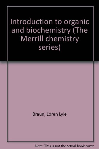 9780675091244: Introduction to organic and biochemistry (The Merrill chemistry series)