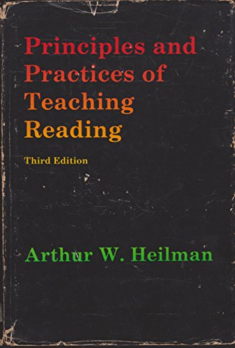 9780675091497: Principles and practices of teaching reading