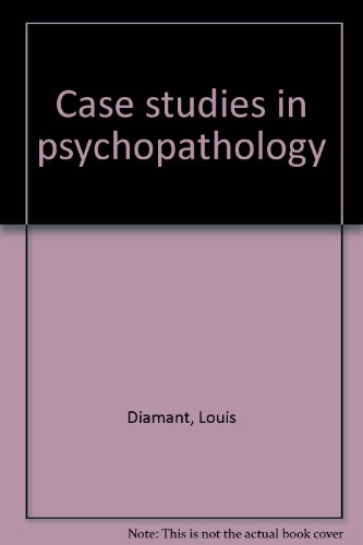 Title: Case studies in psychopathology