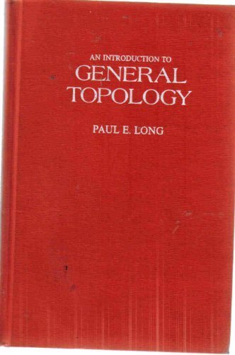 9780675092531: An introduction to general topology (Merrill mathematics series)