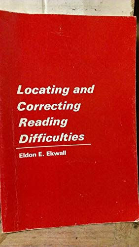 9780675093712: Locating and correcting reading difficulties