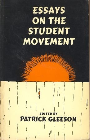 9780675093729: Essays on the student movement