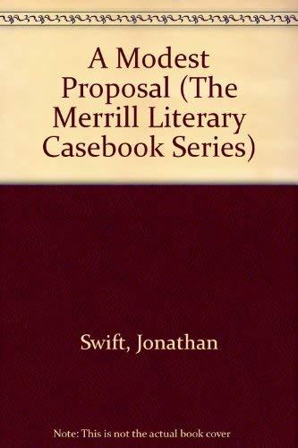 A Modest Proposal : Study Guide: Jonathan Swift; Charles