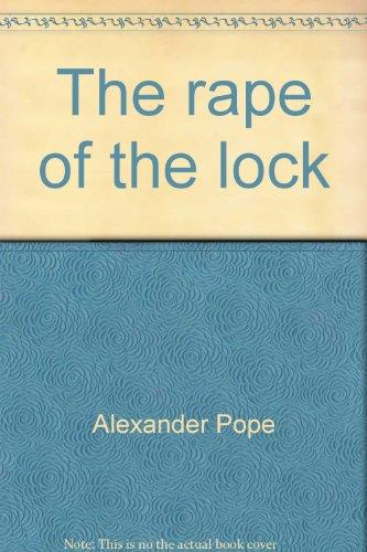 9780675095419: The rape of the lock (Merrill literary casebook series)
