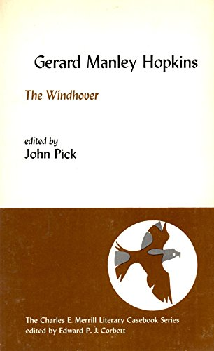 9780675095600: The windhover (The Merrill literary casebook series)