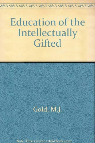 9780675098786: Education of the intellectually gifted