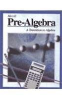 Prealgebra: Transition to Algebra: Merrill, Jack Price,