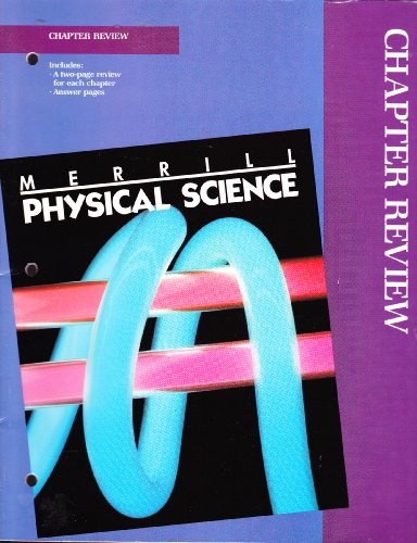 9780675164979: Merrill Physical Science (Chapter Review)