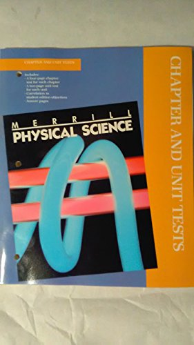 9780675164986: Merrill Physical Science (Chapter and Unit Tests)