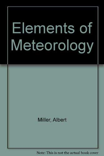 9780675200059: Elements of Meteorology