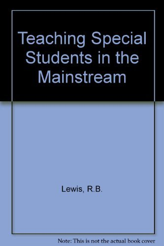 9780675200110: Teaching special students in the mainstream