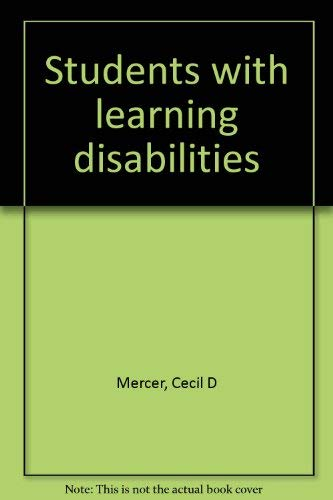 9780675200424: Students with learning disabilities