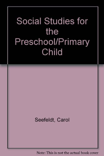 9780675201209: Social Studies for the Preschool/Primary Child
