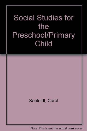 9780675201209: Social Studies for the Preschool/Primary Child