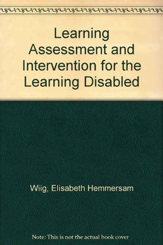 9780675201247: Language Assessment and Intervention for the Learning Disabled
