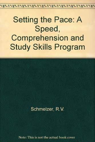 9780675201520: Setting the Pace: A Speed, Comprehension, and Study Skills Program