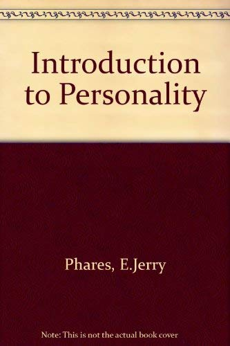 9780675201551: Introduction to Personality