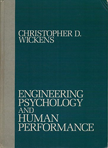 9780675201568: Engineering Psychology and Human Performance